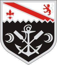 1st Engineer Combat Battalion Decal