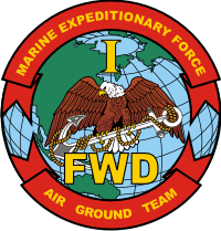 1st MEF Marine Expeditionary Force FWD Decal