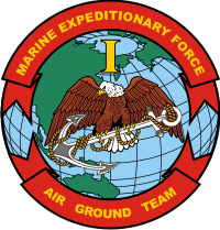 1st MEF Marine Expeditionary Force Decal