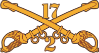 2-17 Cavalry Decal