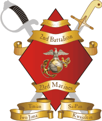 2nd Battalion 23rd Marines Decal