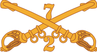 2-7 Cavalry Decal