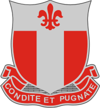 20th Engineer Battalion DUI Decal
