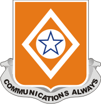 212th Signal Battalion Decal