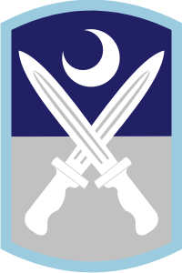 218th Infantry Brigade Decal