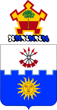 22nd Infantry Regiment Coat of Arms Decal