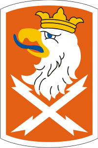 22nd Signal Brigade Decal