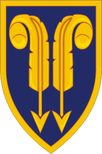 22nd Support Command Decal