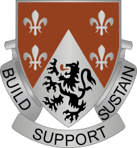 249th Engineer Battalion DUI Decal