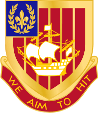 251st Air Defense Artillery Rgt DUI Decal