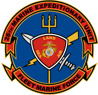 26th MEU Marine Expeditionary Unit Decal