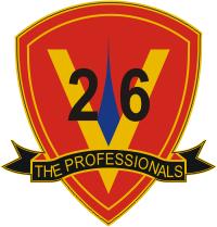 26th Marine Regiment Decal