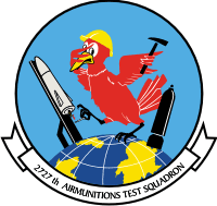 2727th Airmunitions Test Squadron Decal
