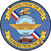 2nd ANGLICO Air Naval Gunfire Liaison Company Decal