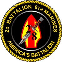 2-8 Marines Decal