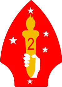 2nd Marine Division Decal