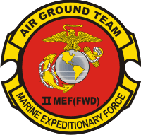 2nd Marine Expeditionary Force FWD Decal