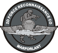2nd Force Recon Co Decal