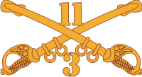 3-11 Cavalry Decal