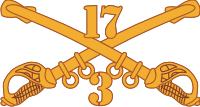 3-17 Cavalry  Decal