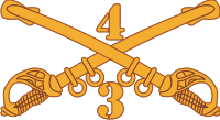 3-4 Cavalry Decal