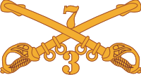 3-7 Cavalry Decal