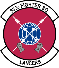 333rd Fighter Squadron Decal
