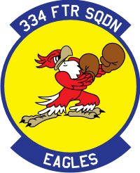 334th Fighter Squadron Decal