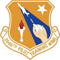 3646th Pilot Training Wing Decal