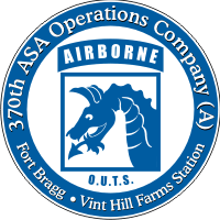 370th ASA Operations Company A Decal