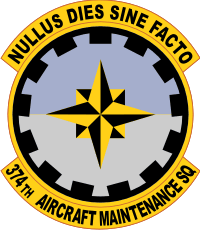 374th Aircraft Maintenance Squadron Decal