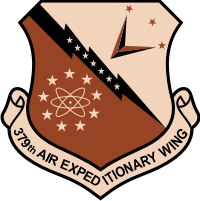 379th Air Expeditionary Wing (2) Decal