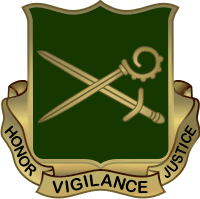 385th Military Police Battalion DUI Decal