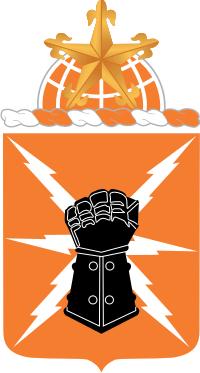 38th Signal Battalion COA Decal