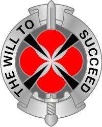 39th Signal Battalion DUI Decal