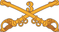 3rd Cavalry Decal