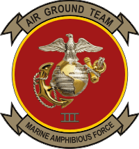 Marine Amphibious Force, III MEF Marine Expeditionary Force Decal