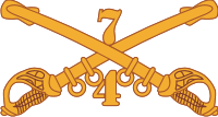 4-7 Cavalry Decal