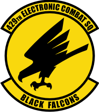 429th Electronic Combat Squadron Decal
