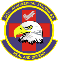 445th Aeromedical Staging Squadron Decal