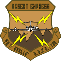 451st Tactical Airborne Gateway Decal