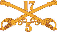 5-17 Cavalry Decal