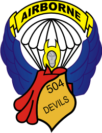 504th Airborne – 2 Decal