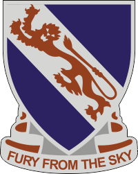 508th Infantry DUI Decal