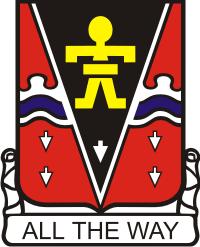 509th Parachute Infantry Regiment DUI Decal