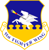 51st Fighter Wing Decal