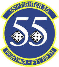 55th Fighter Squadron Decal