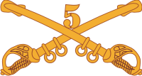 5th Cavalry Decal