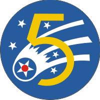 5th Air Force Decal