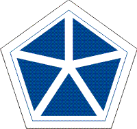 5th Corps (V Corps) Decal